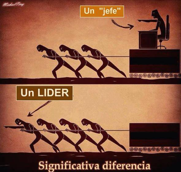 lider vs jefe
