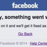 Cuando Facebook se cae y todo deja de tener sentido…
